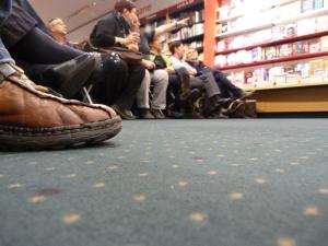 in Buchhandlung