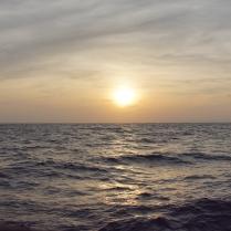 Sonne unter